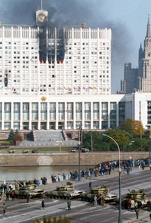 White House, Moscow, October 4, 1993