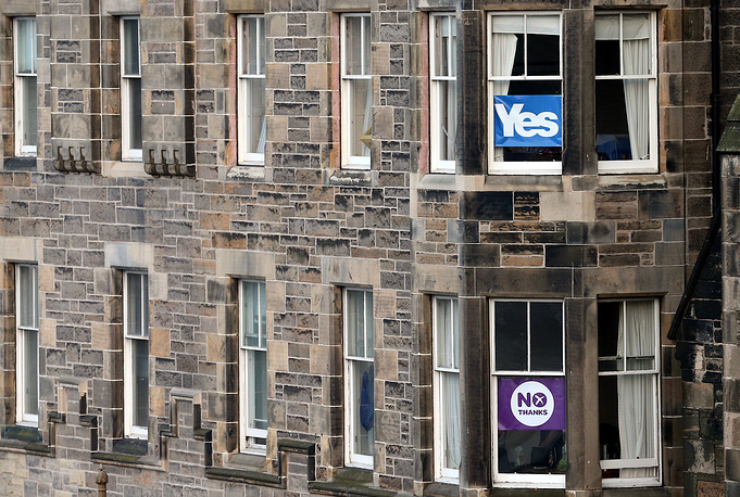 If the majority says 'yes' to a divorce from the UK, independence will be proclaimed March 24, 2016