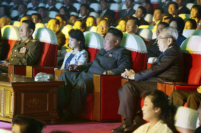 Kim Jong-un had not been seen in public since he watched a concert with his wife in Pyongyang on September 3