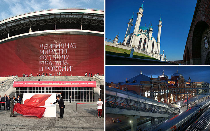 The newly-built 45,000-seat capacity Kazan-Arena was opened in 2013. The same year it was the venue for the opening and closing ceremonies of 2013 Summer Universiade