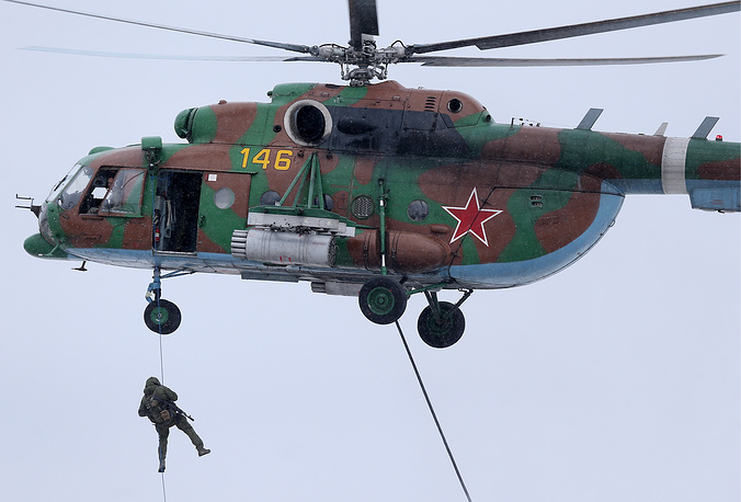 Mi-8AMTSh assault transport helicopter