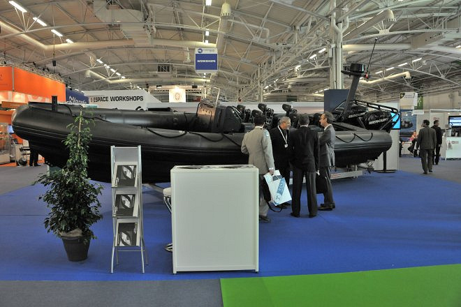 Euronaval 2014 was held from the 27th to 31st October at the Le Bourget exhibition center. Euronaval is one of the world's largest naval defense exhibitions