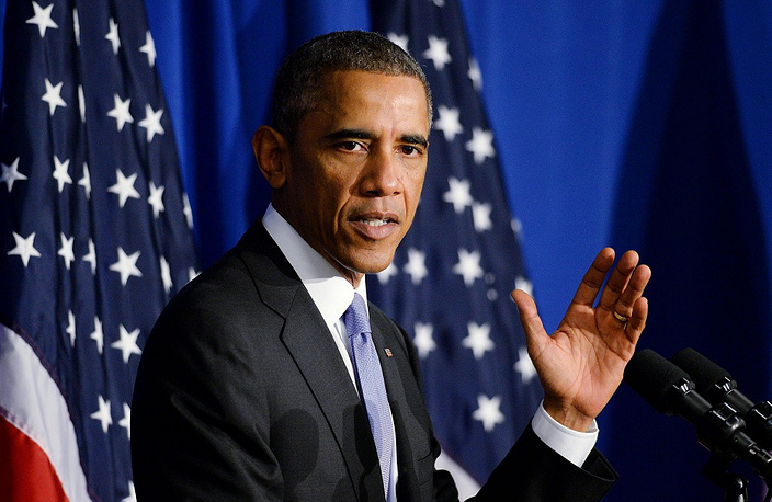 """2. US President Barack Obama. """"Heading into the second half of his second term, Obama seems stymied both by the West African Ebola breakout and a blood-thirsty militia named ISIS which threaten to undo all the gains of a 9-year war in Iraq that cost the lives of 4,500 Americans,"""" Forbes said. """"He has the power but has been too cautious to fully exercise it."""""""