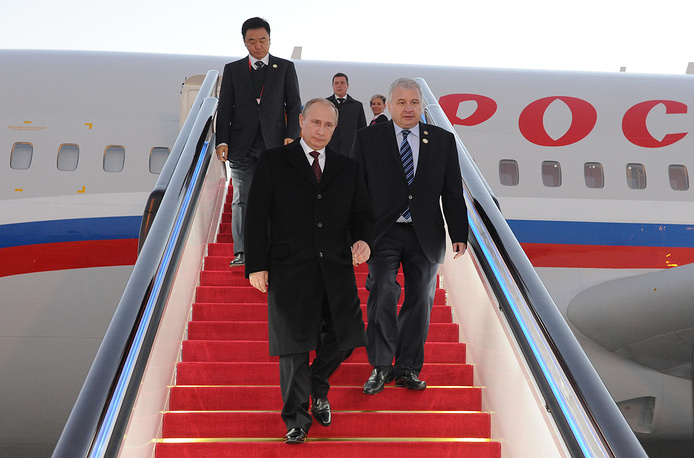 Russian President Vladimir Putin, who arrived in Beijing a day before, has already held full-format talks with Chinese leader Xi Jinping
