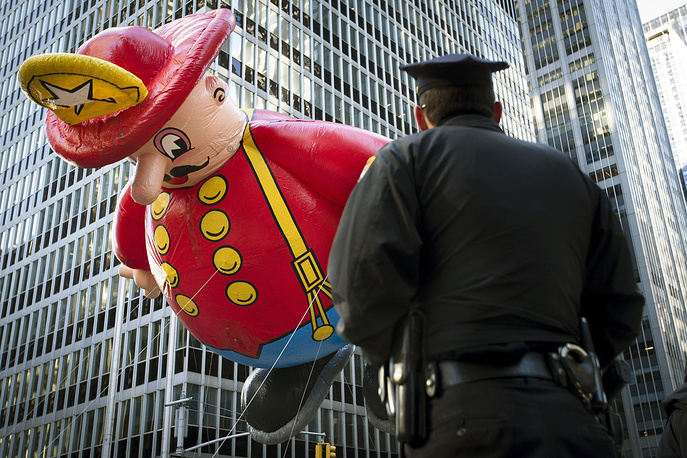 87th Macy's Thanksgiving Day Parade, November 28, 2013