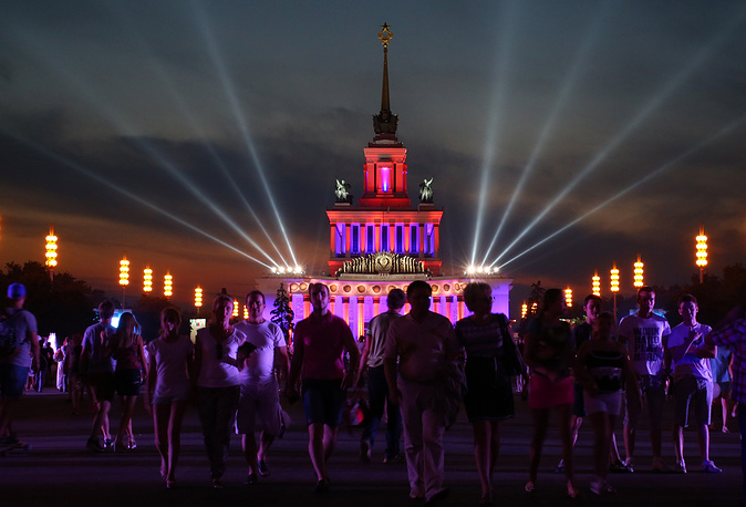 In 2014 VDNKh Exhibition center marked it's 75th birthday