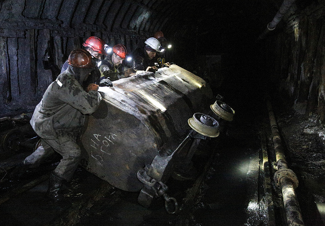 According to Forbes Ukraine, 83 mines were located in the areas controlled by the militias of the self-proclaimed Luhansk and Donetsk People's Republics at the beginning of November