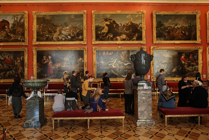 Collection of European art has about 600 thousand items