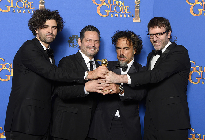 'Birdman' by Mexican director Alejandro Gonzalez won the award for Best screenplay - motion picture