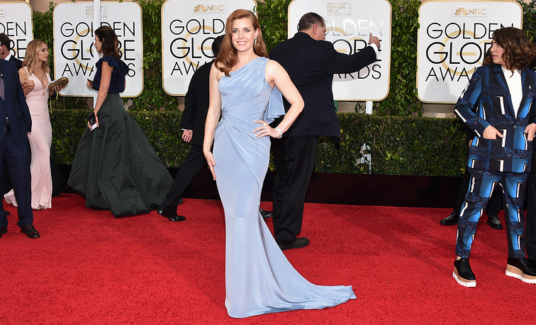 """Amy Adams won the award for Best actress in a motion picture - musical or comedy for """"Big Eyes"""""""