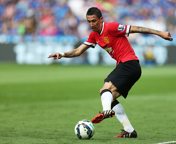 Manchester United's Angel Di Maria
