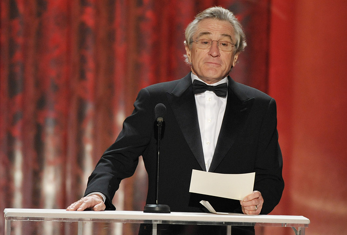 Actor Robert DeNiro was diagnosed with prostate cancer and underwent surgery in 2003