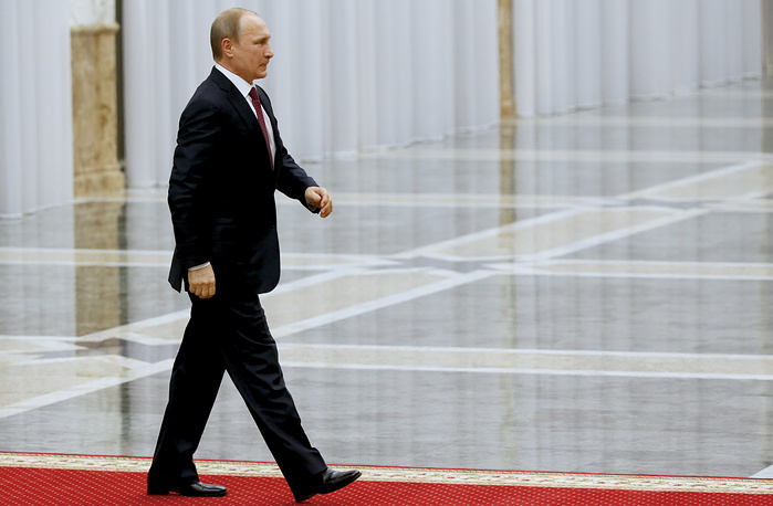 Russian President Vladimir Putin heading for talks in Minsk