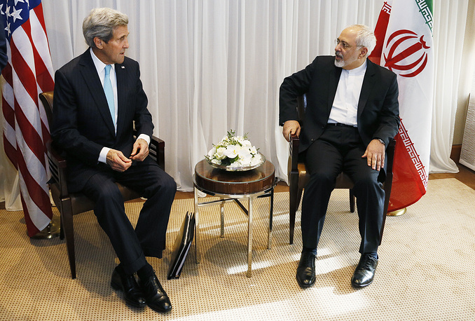 Talks between US Secretary of State John Kerry and Iranian Foreign Minister Mohammad Javad Zarif in Geneva, Switzerland lasted for 7 hours. Iran's disputed nuclear program was the main topic of the meeting