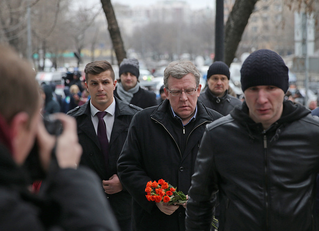Former Russian finance minister Alexey Kudrin