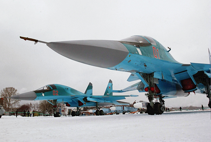 Su-34 entered service in early 2014