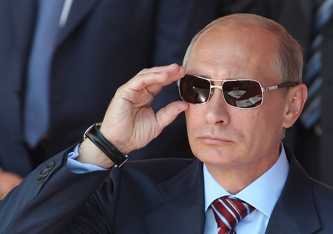 1. Russian President Vladimir Putin. 6.95% of the votes