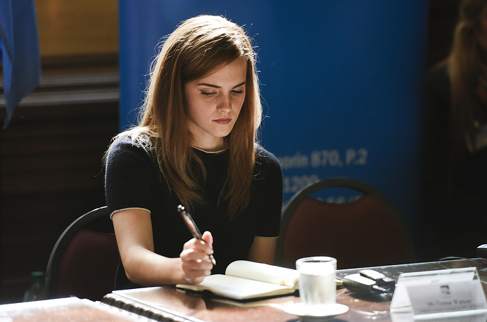 6. Actress and UN Women Goodwill Ambassador Emma Watson
