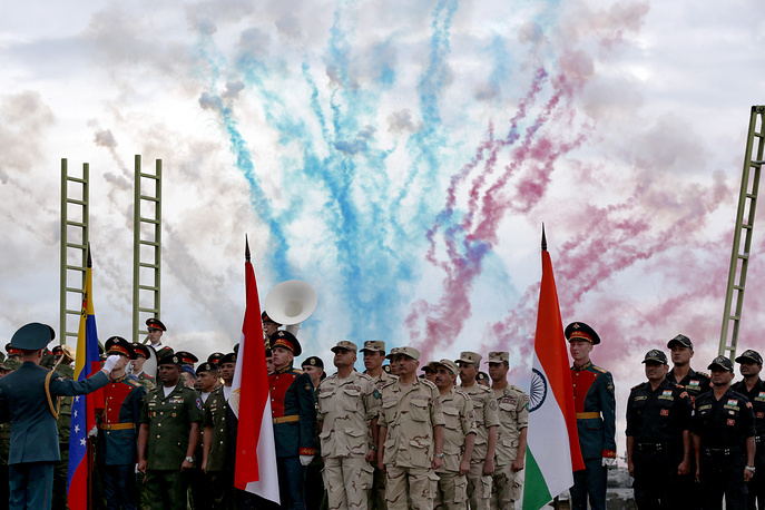 Opening ceremony of the 2015 International Army Games