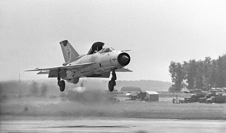 MiG-21 multirole fighter was developed in the mid-1950s. Approximately 60 countries over four continents have flown the MiG-21, and it still serves many nations