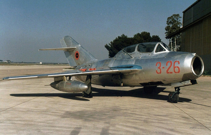 MiG-15 was one of the first successful swept-wing jet fighters, and achieved fame in the skies over Korea, where, early in the war, it outclassed all straight-winged enemy fighters in most applications