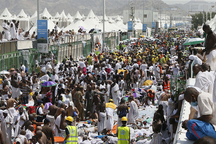 Stampede killed more than 700 pilgrims and injured hundreds on September 24 outside the Muslim holy city of Mecca in Saudi Arabia