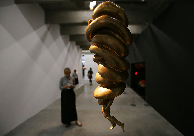 The Spiral Woman sculpture