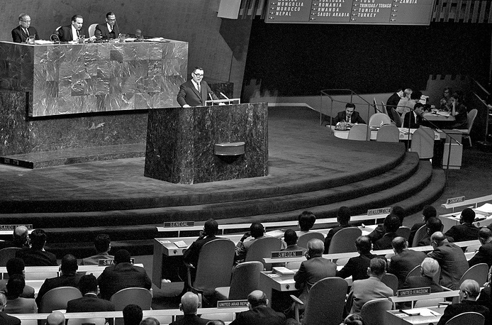 Soviet Foreign Minister Andrei Gromyko once lost his consciousness during one of his speeches at the UN