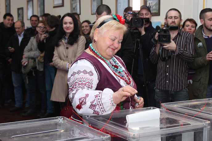 Local election were held in Ukraine on October 25