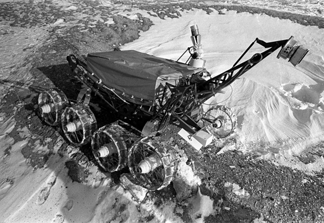 Lunokhod 2 was the second of two unmanned lunar rovers landed on the Moon by the Soviet Union as part of the Lunokhod program. The rover became operational on the Moon on January 16, 1973