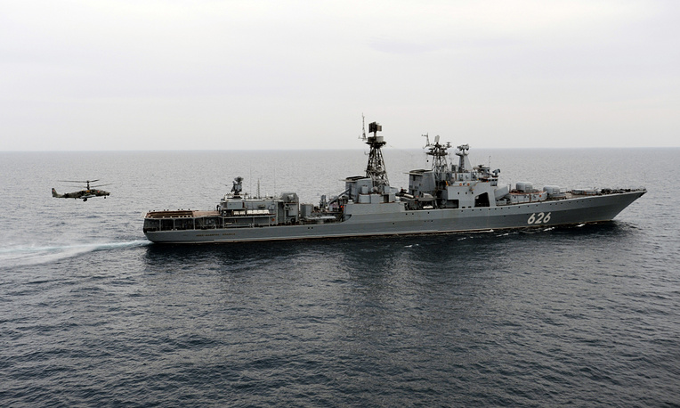 The Vice-Admiral Kulakov anti-submarine destroyer