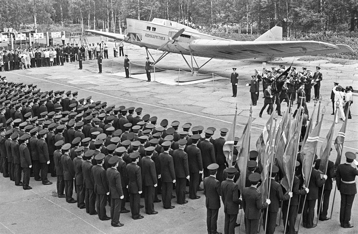 Tupolev TB-1 (ANT-4) served as the backbone of the Soviet bomber force for many years, and was the first large all-metal aircraft built in the Soviet Union