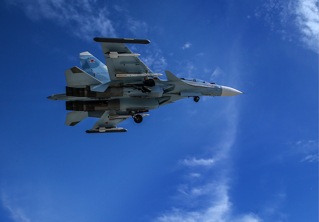 Su-30 multirole fighter aircraft