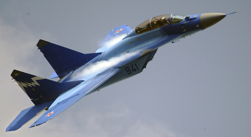 MiG-29K performing at the MAKS 2007 MAKS International Aerospace Show