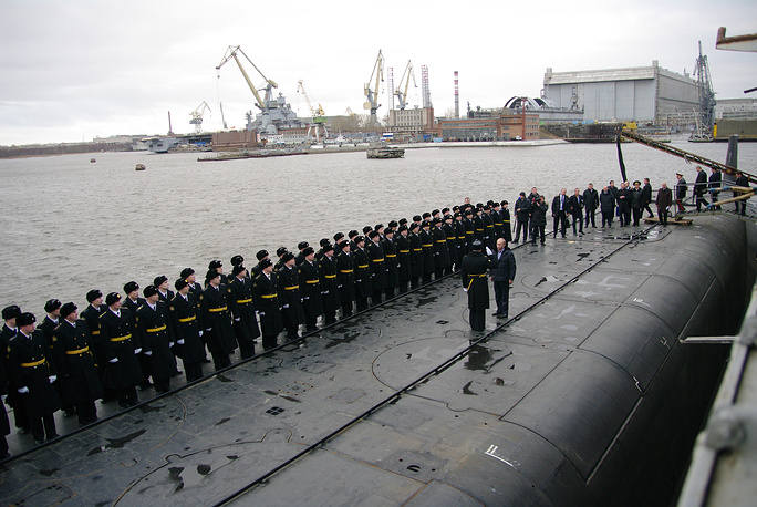 Alexander Nevsky nuclear-powered submarine of Borei class, Project 955