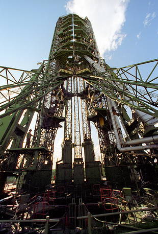 One of eight Plesetsk launch facilities, 1996