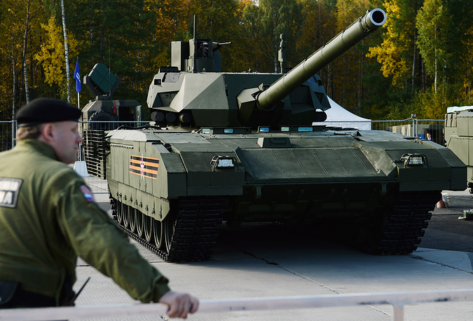 Armata-based T-14 main battle tank