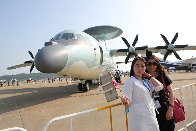 KJ-500 airborne early warning and control system (AEW&C) aircraft