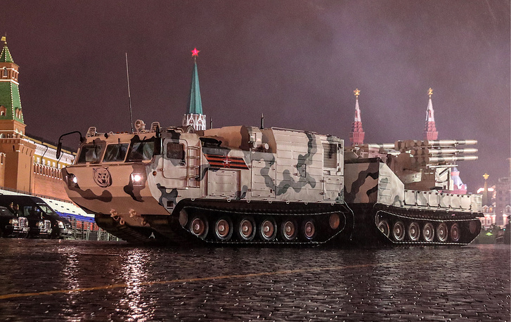 Tor-M2DT anti-aircraft missile system