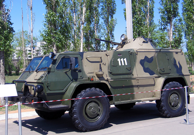 GAZ Vodnik, or GAZ-3937 high-mobility multipurpose military vehicle