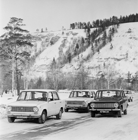 VAZ-2101, commonly nicknamed Zhiguli and Kopeyka, a compact sedan car, was produced by the Soviet manufacturer AvtoVAZ and introduced in 1970