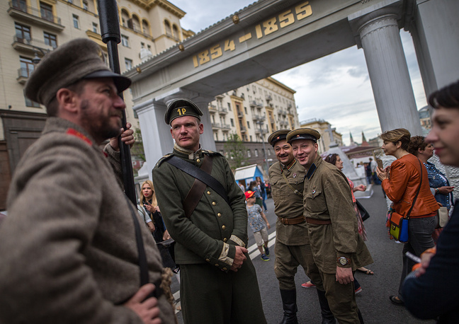 Times and Epochs historical reconstruction festival in Moscow