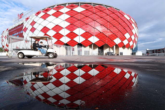 Otkrytie Arena, or Spartak Stadium in Moscow, one of the 2017 Confederations Cup venues