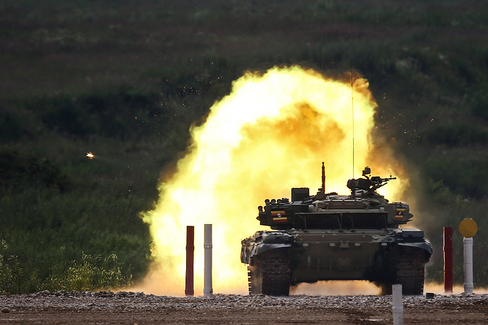 Individual race event of the Tank Biathlon competition