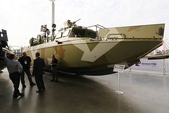BK-16, a high speed landing boat developed by the Kalashnikov group
