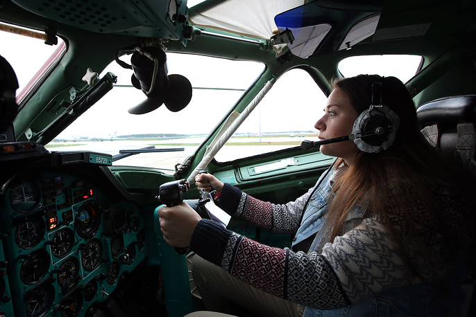 Krasnodar High military aviation school for pilots has been accepting women since 2009, but not for pilot training
