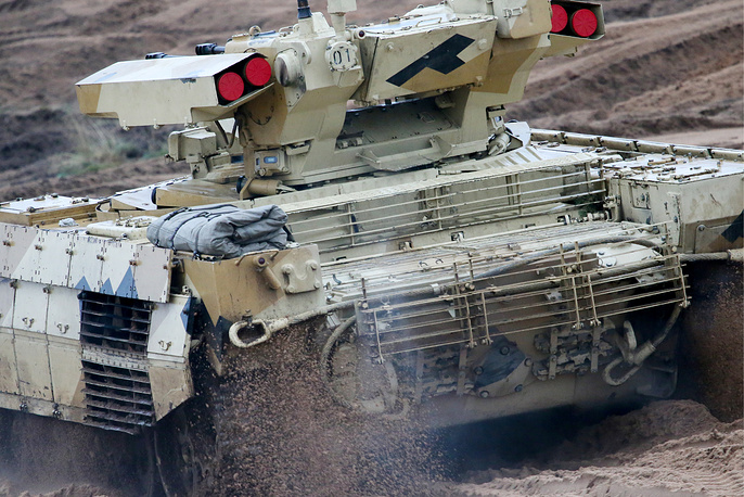 Armoured hardware takes part in Zapad-2017 military exercise