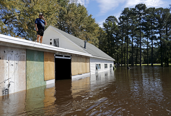 State of emergency was declared in the Carolinas, Georgia, Virginia and Maryland