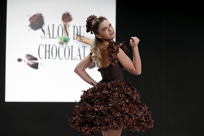 More than 500 manufacturers from 60 countries brought sweet products o the fair