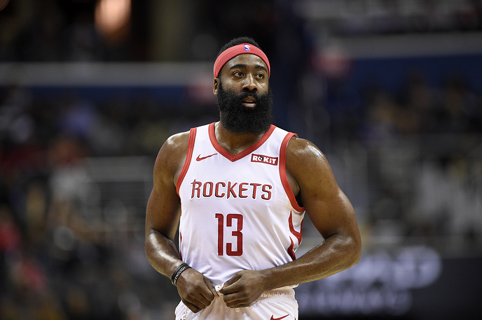American professional basketball player James Harden ($46.4 million)